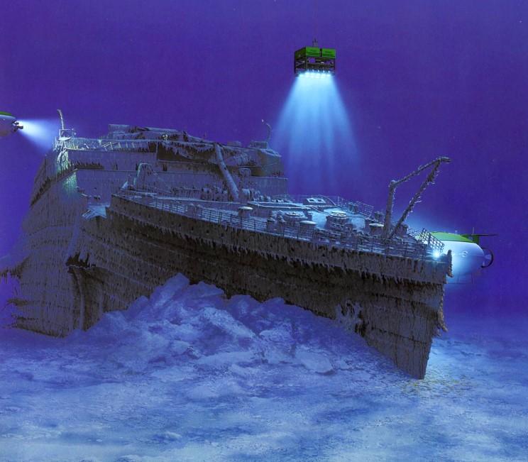 Dessins de vrais artistes 14_titanic