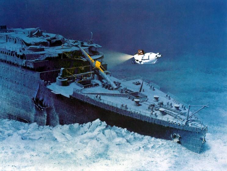 Dessins de vrais artistes Titanic_wreck_marschall_1