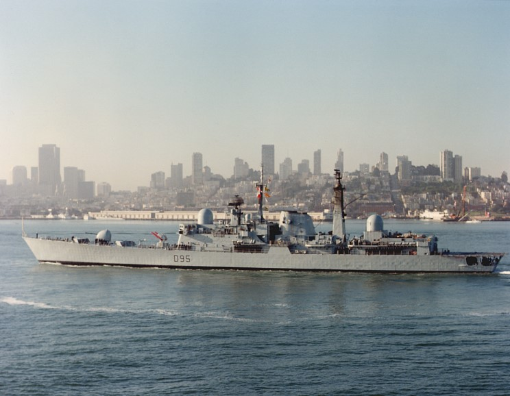 DESTROYERS LANCE-MISSILES CLASSE SHEFFIELD (TYPE 42) 1986_00_00_d95_b