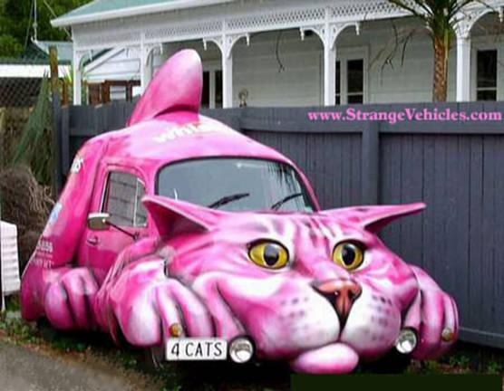 سيارات غريبه Funny%20cat%20car%20strange%20vehicles