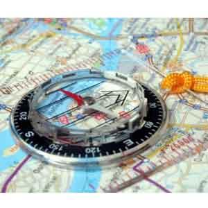 Orden de Marcha en el Terreno (Navegación terrestre) Hoja-de-ruta