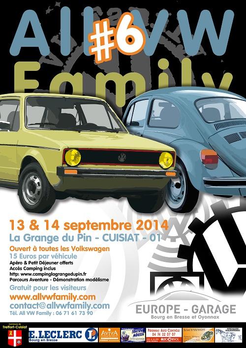 [01] All VW Family #6 - Les 13 et 14 Septembre 2014 Allvw2014