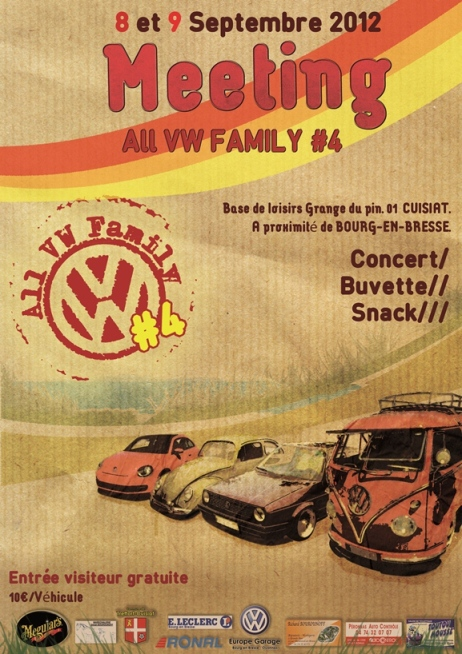[01 Cuisiat] All VW Family #4 - Les 8 et 9 Septembre 2012 Fly2012