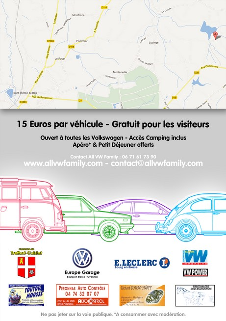 [01 Cuisiat] All VW Family #5 - Les 7 et 8 Septembre 2013 Fly2013v