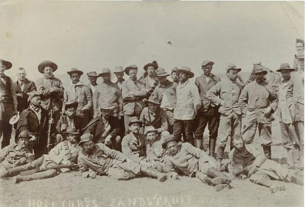 Nederlandse vrijwilligers tijdens de Boerenoorlog in het Hollanderkorps  Hollanderkorps