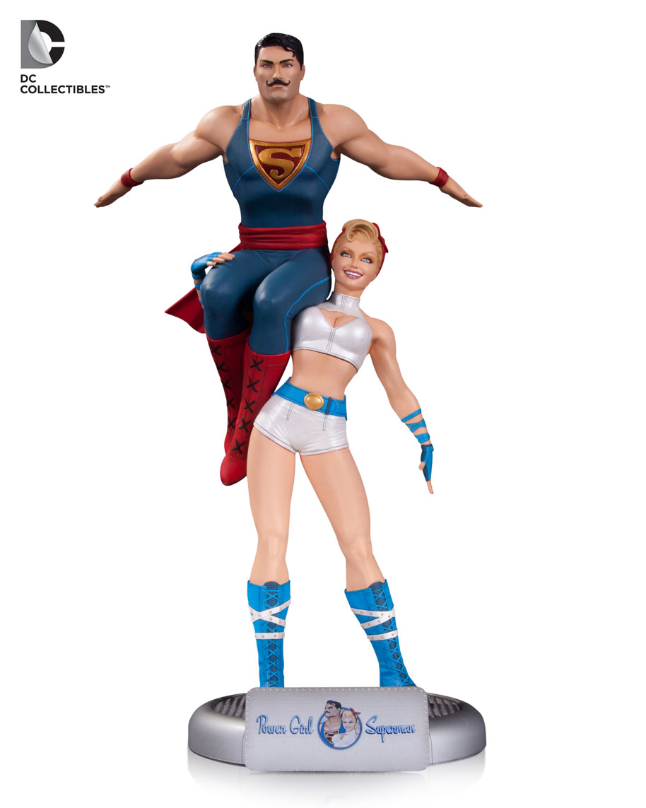 DC Collectibles Powergirl Bombshell DC-Bombshells-Power-Girl-and-Superman
