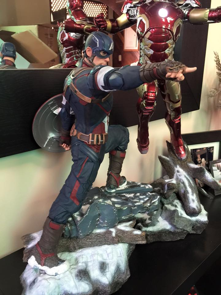 IRON STUDIOS: CAPTAIN AMERICA AVENGERS AGE OF ULTRON LEGACY 1/4 SCALE - Page 6 Cap4