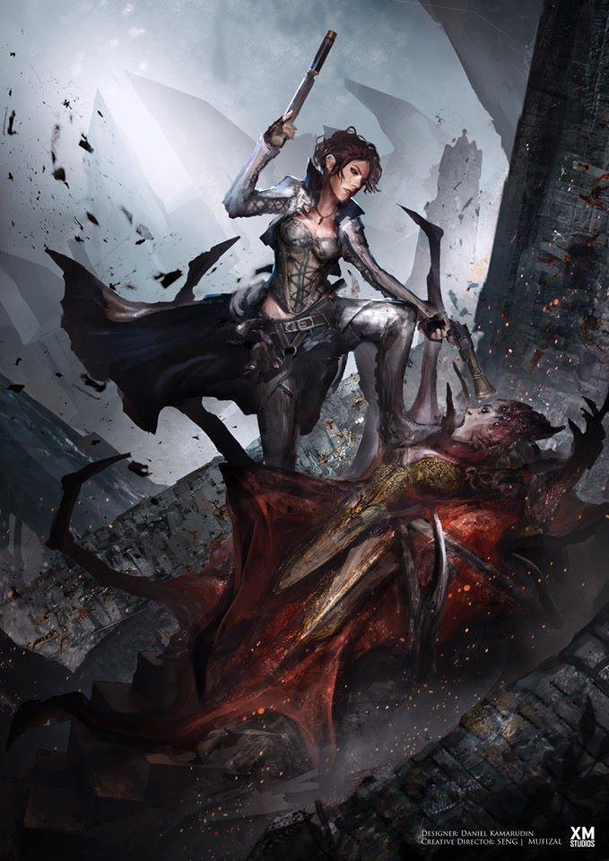 Premium collectibles : Witch Huntress** Hunt1