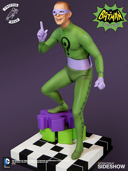 "The Riddler ""Signature Series"" Maquette Dc-comics-riddler-maquette-tweeterhead-902572-03"