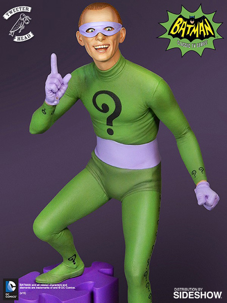"The Riddler ""Signature Series"" Maquette Dc-comics-riddler-maquette-tweeterhead-902572-04"