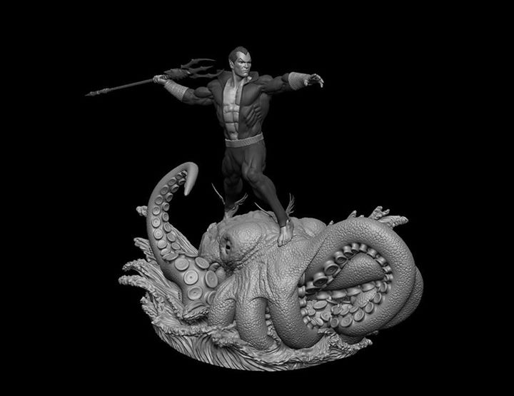 Premium Collectibles : Namor the First, Prince of Atlantis 76