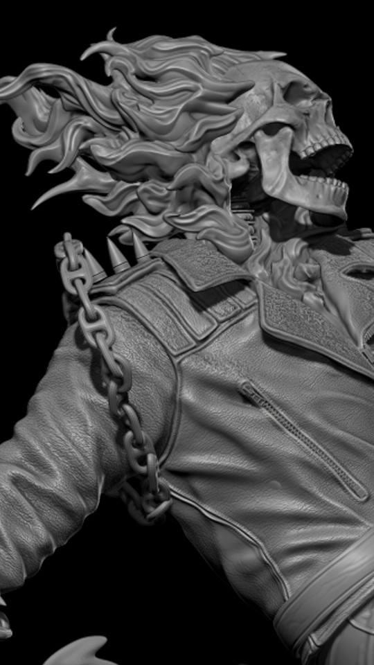 Premium Collectibles : Ghost Rider B4