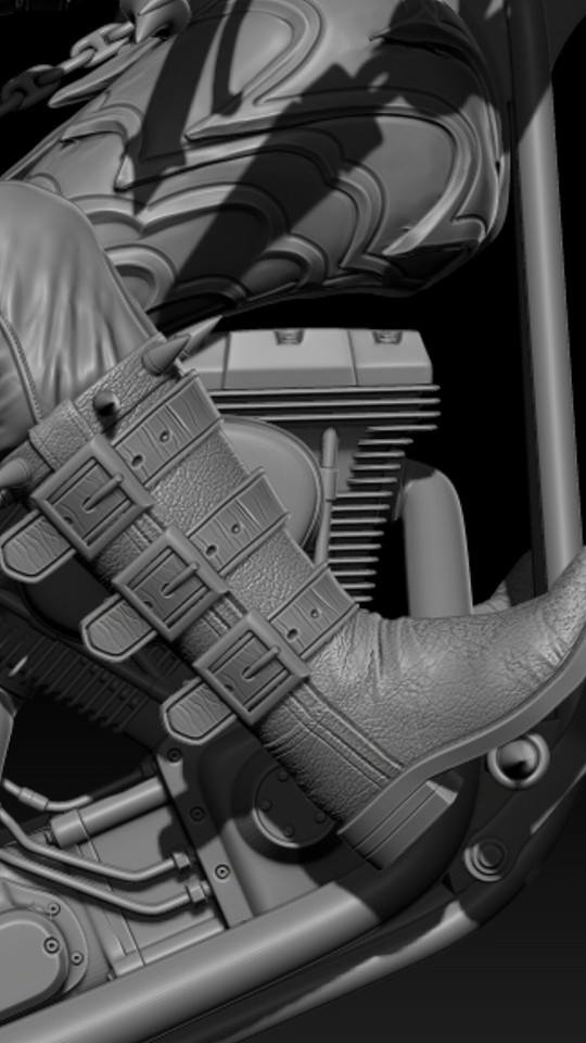 Premium Collectibles : Ghost Rider B5