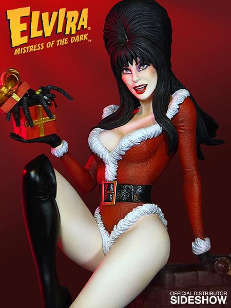 TWEETERHEAD : ELVIRA Scary Christmas Maquette Elvira-scary-christmas-maquette-tweeterhead-902544-03