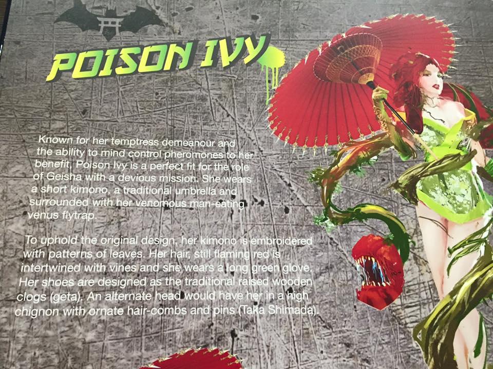 Samurai Series : Poison Ivy 20