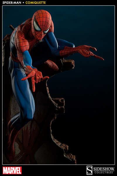 "SPIDER-MAN ""J.SCOTT CAMPBELL"" Comiquette 200265-spider-man-003"