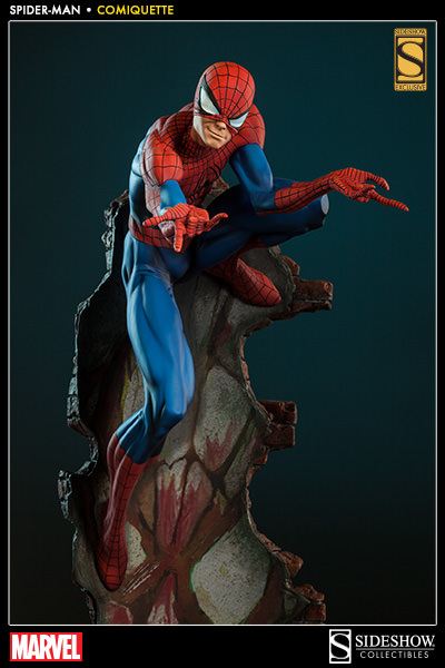 "SPIDER-MAN ""J.SCOTT CAMPBELL"" Comiquette 2002651-spider-man-001"