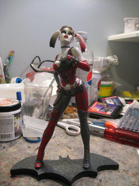 Batman: Arkham City - Harley Quinn Statue ACQuinn