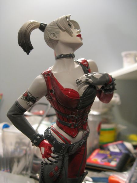 Batman: Arkham City - Harley Quinn Statue ACQuinn11