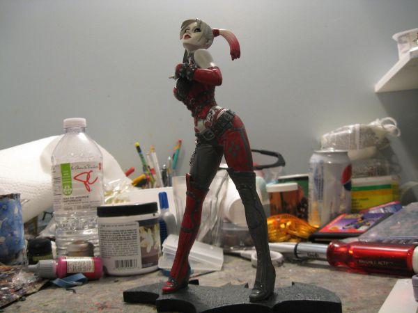 Batman: Arkham City - Harley Quinn Statue ACQuinn6