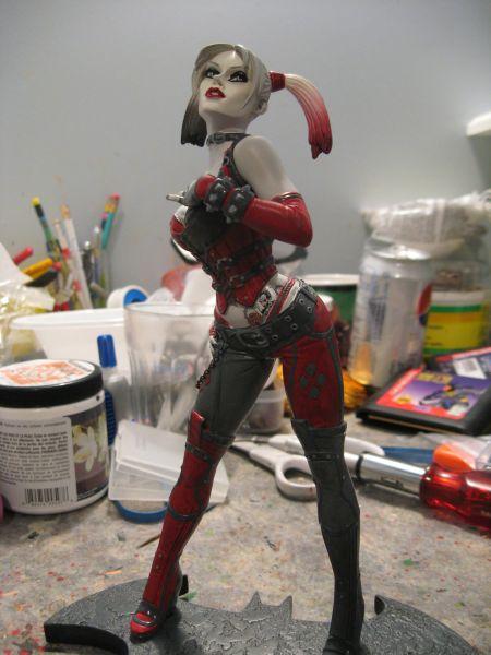Batman: Arkham City - Harley Quinn Statue ACQuinn9