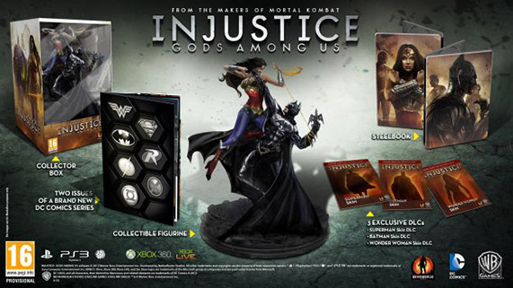 Injustice: Gods Among Us Collector's Edition Statue Collectors_edition_uk