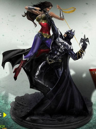 Injustice: Gods Among Us Collector's Edition Statue Dc-gods-among-us-collectors-2