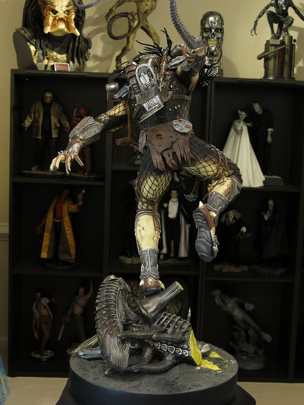 ALIENS VS PREDATORS: WOLF PREDATOR Legendary scale figure 12