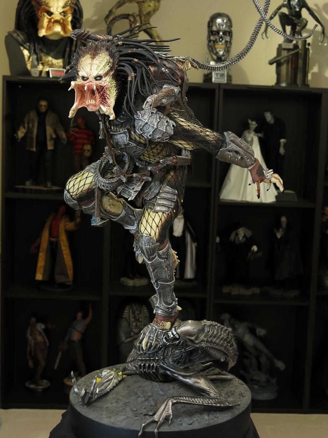 ALIENS VS PREDATORS: WOLF PREDATOR Legendary scale figure 9