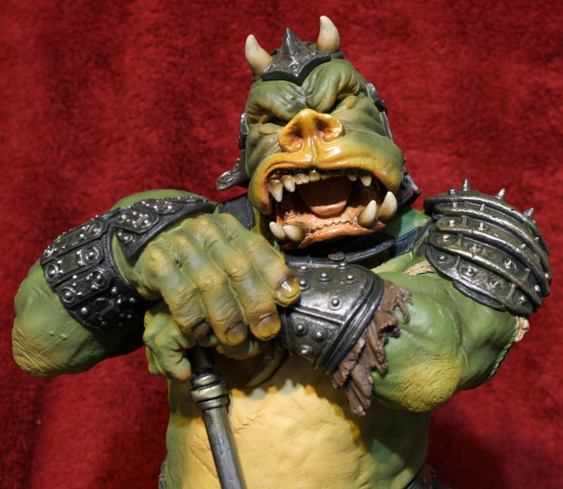 STAR WARS: GAMORREAN EXECUTIONER Mythos statue 14