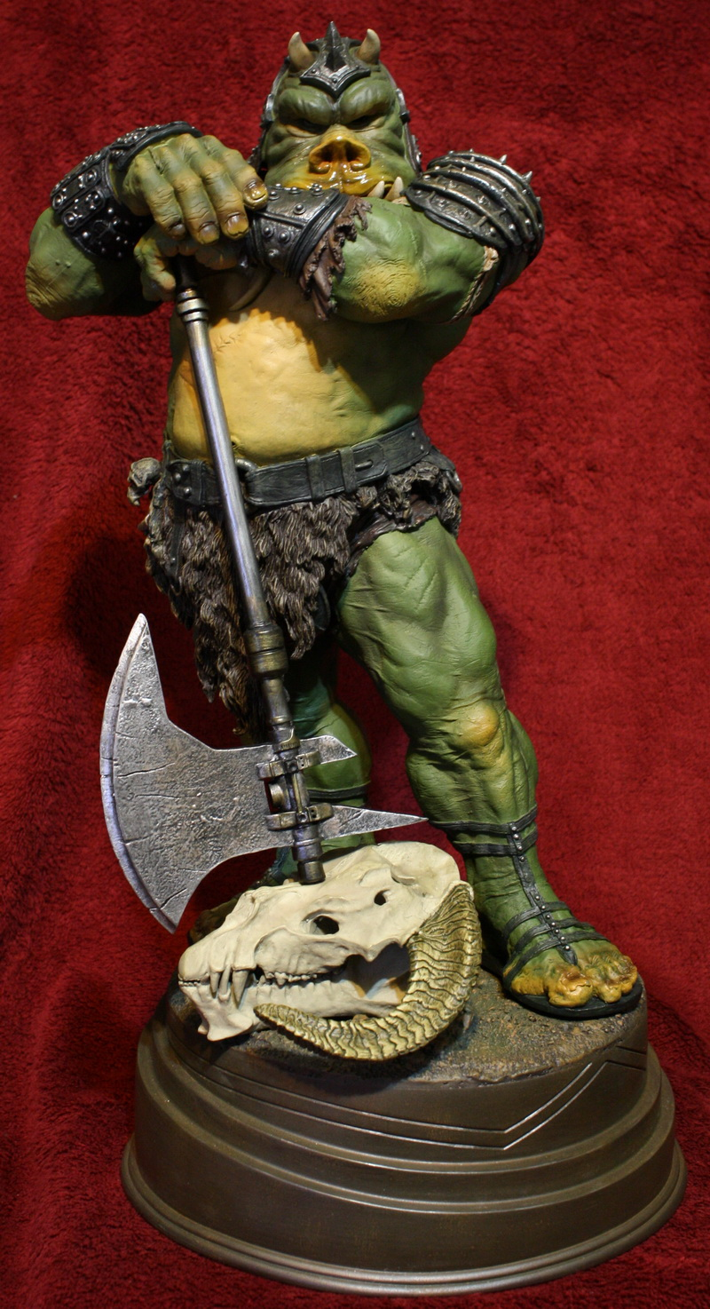 STAR WARS: GAMORREAN EXECUTIONER Mythos statue 15