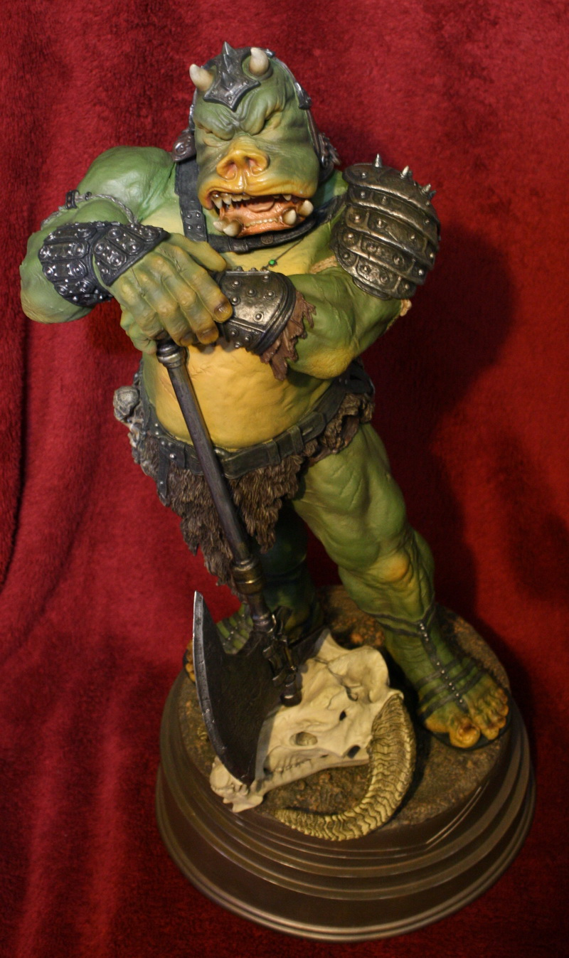 STAR WARS: GAMORREAN EXECUTIONER Mythos statue 16
