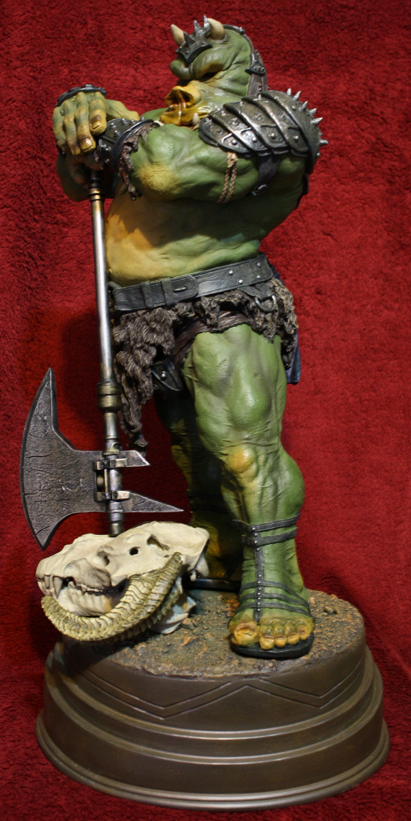 STAR WARS: GAMORREAN EXECUTIONER Mythos statue 18