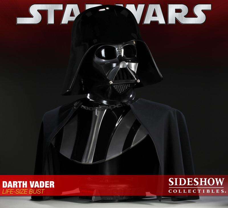 STAR WARS: DARTH VADER Life size bust 2973_press01