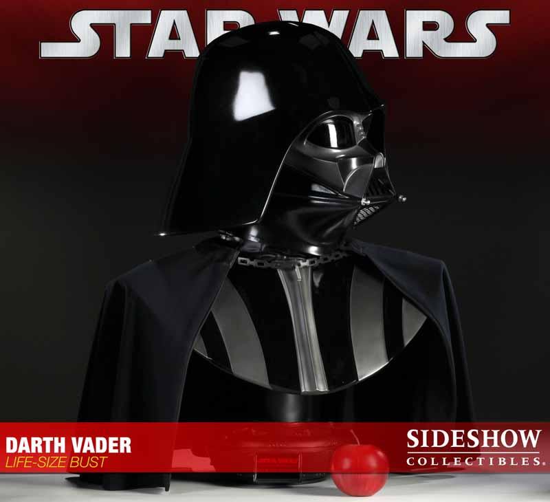 STAR WARS: DARTH VADER Life size bust 2973_press02