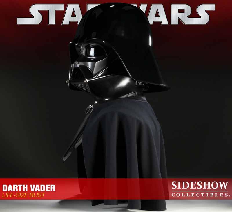 STAR WARS: DARTH VADER Life size bust 2973_press03