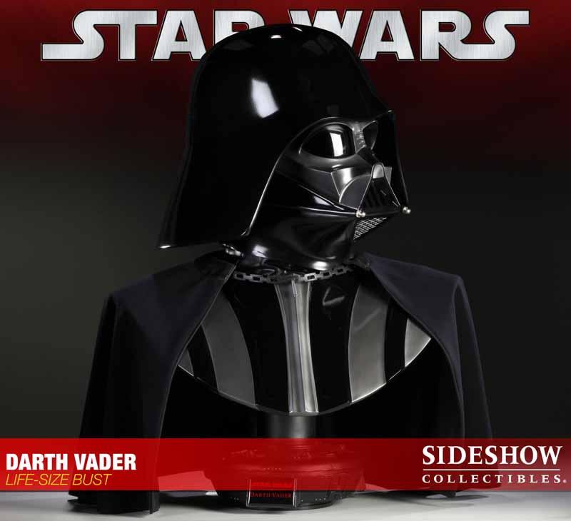 STAR WARS: DARTH VADER Life size bust 2973_press04