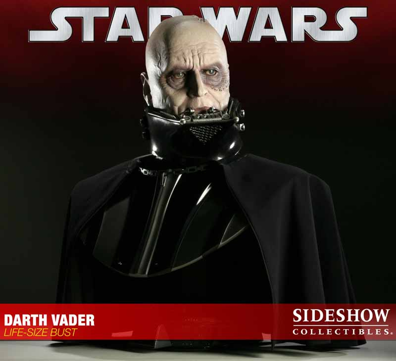 STAR WARS: DARTH VADER Life size bust 2973_press07