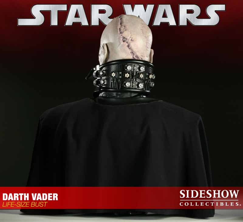 STAR WARS: DARTH VADER Life size bust 2973_press08