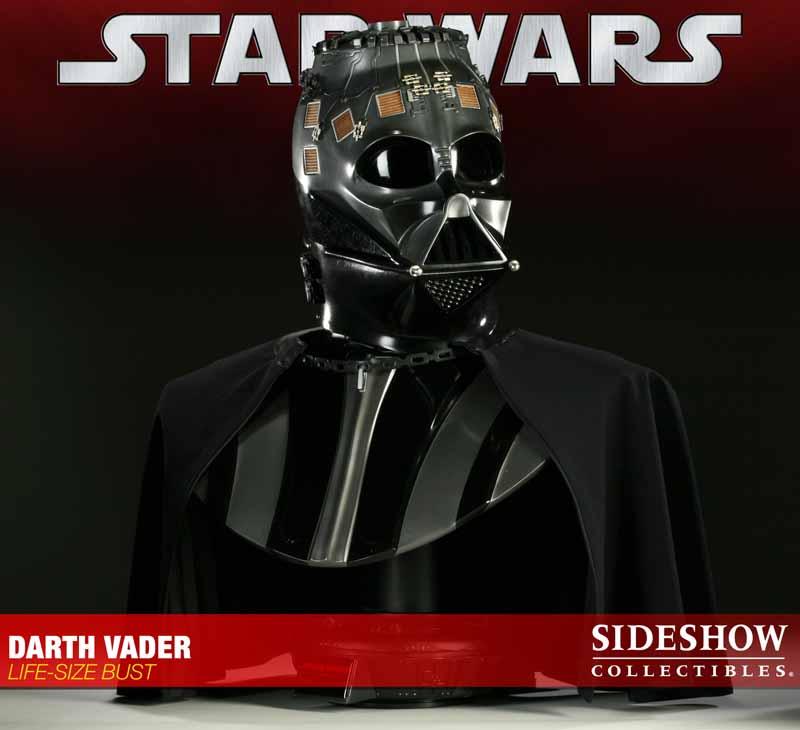 STAR WARS: DARTH VADER Life size bust 2973_press09