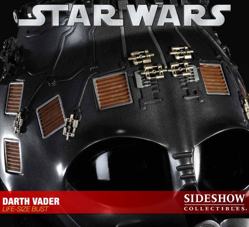STAR WARS: DARTH VADER Life size bust 2973_press10