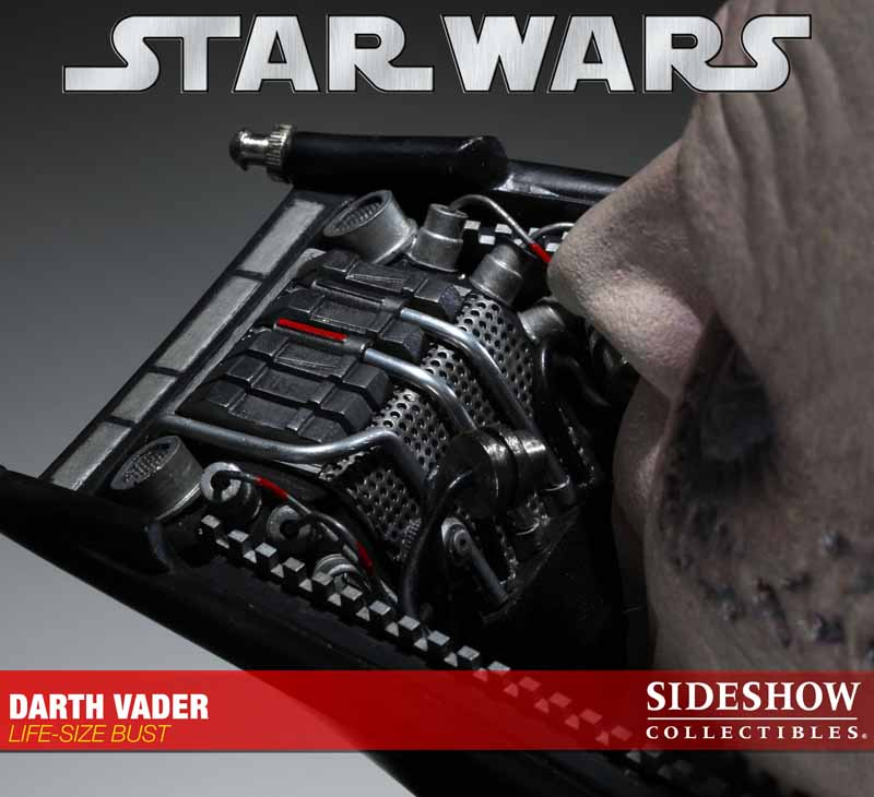 STAR WARS: DARTH VADER Life size bust 2973_press14