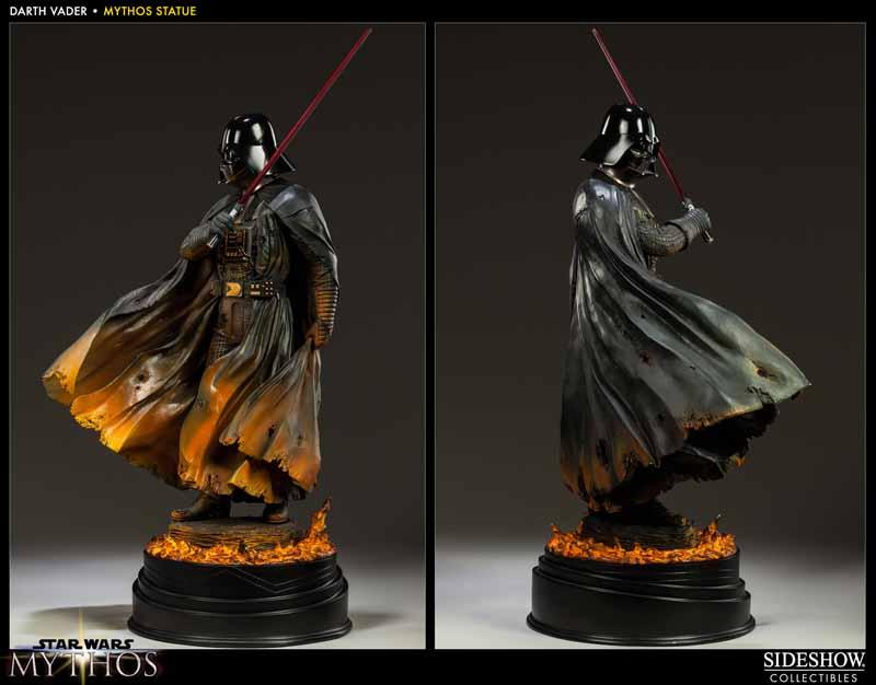STAR WARS; DARTH VADER Mythos statue 200193_press06