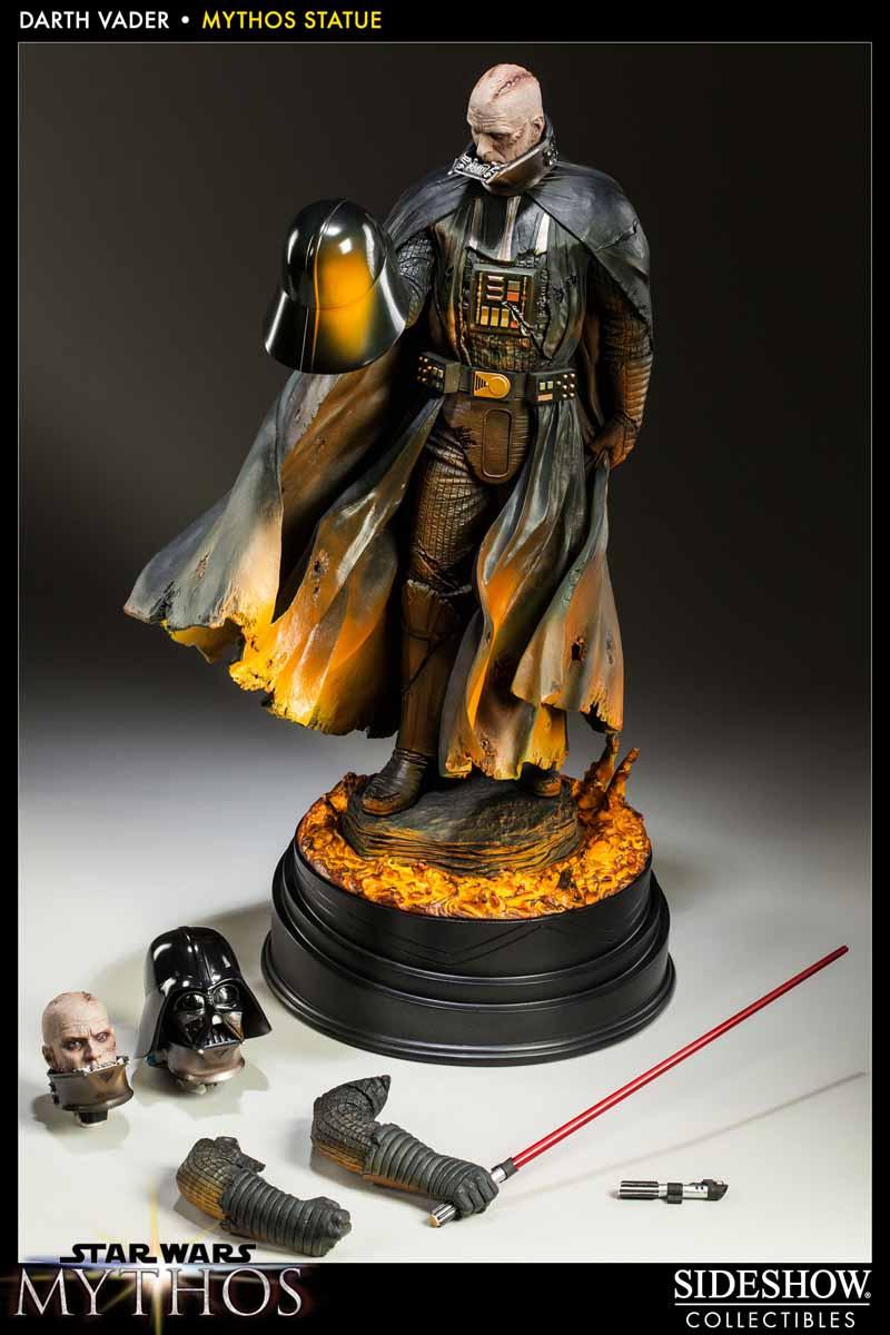 STAR WARS; DARTH VADER Mythos statue 200193_press09