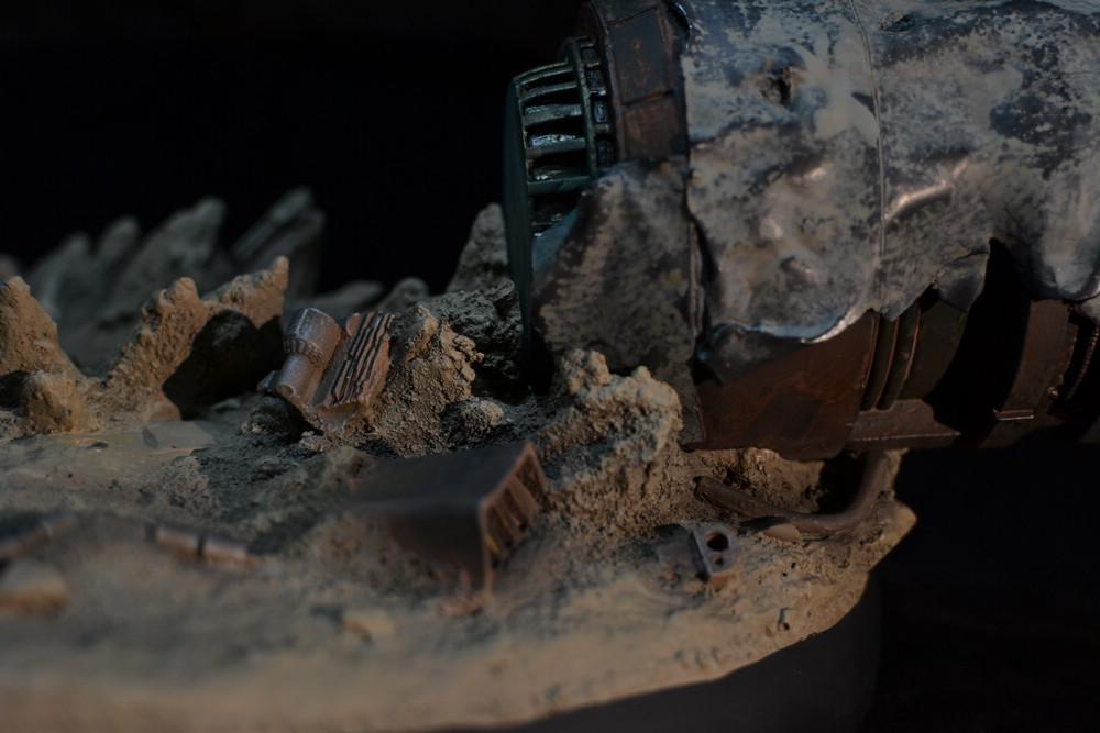 STAR-WARS: SHAAK TI VS. GENERAL GRIEVOUS Diorama 11