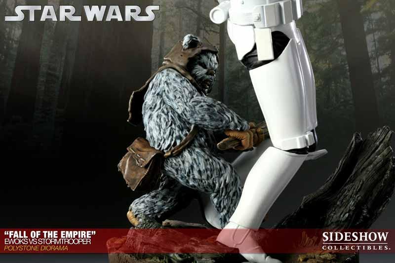 STAR WARS: EWOKS VS STORMTROOPER Diorama 200042_press04