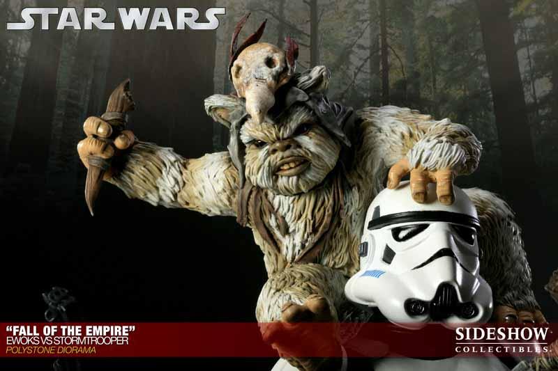 STAR WARS: EWOKS VS STORMTROOPER Diorama 200042_press05