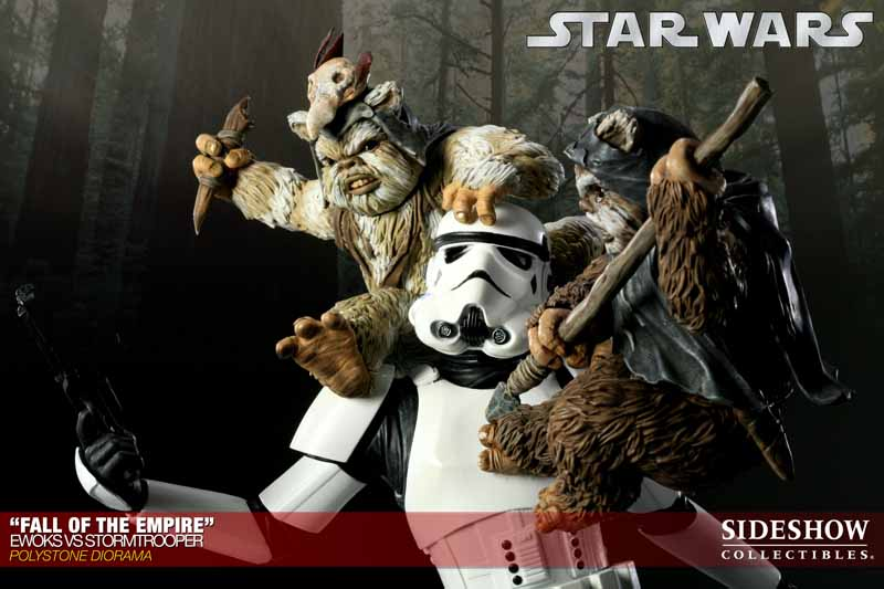 STAR WARS: EWOKS VS STORMTROOPER Diorama 200042_press15