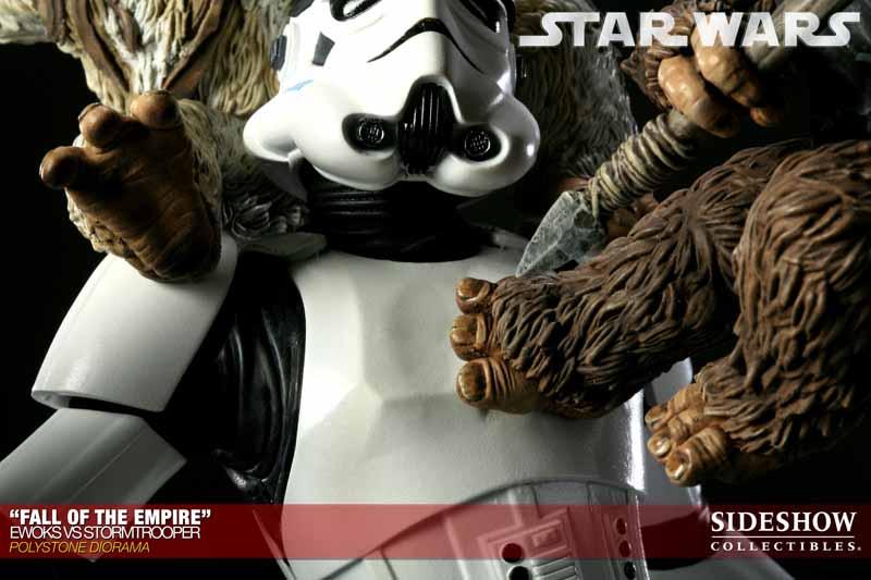 STAR WARS: EWOKS VS STORMTROOPER Diorama 200042_press16