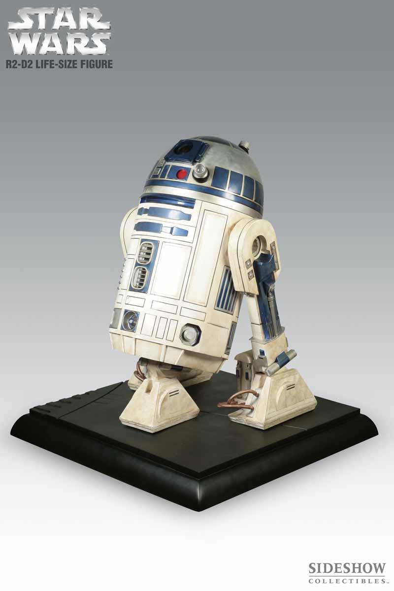 STAR WARS: R2-D2 Life size figure 2215_press01